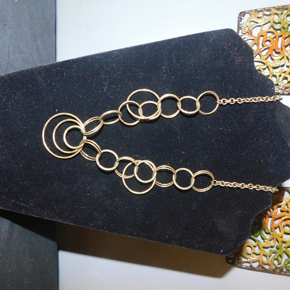 gold fashion necklace
